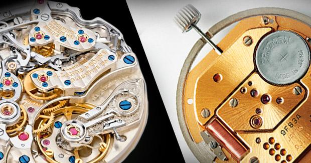 Механические и кварцевые часы