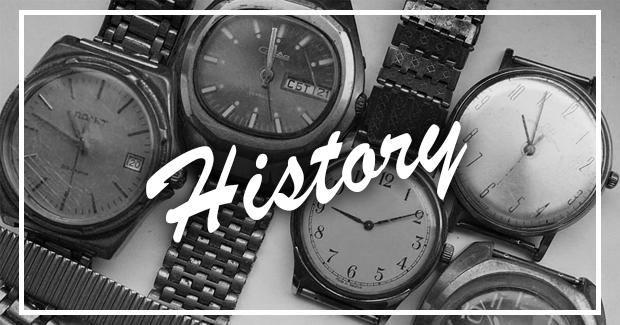 Наручные часы и их история